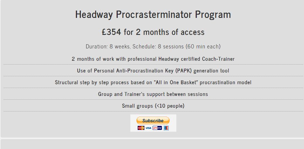 ProcrasTerminator Program